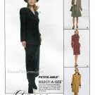 Shirtdress Jacket Skirt Sewing Pattern 8-12 Unlined Overjacket Slim Fit Boots 8971