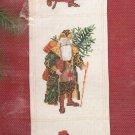 Janlynn Christmas Cross Stitch Kit Antique Santa Bell Pull Holiday Craft
