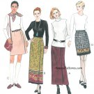 Mock Wrap Skirt Easy Sewing Pattern 10-14 Boot length Mini Above Knee 9014