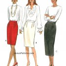 Easy Straight Skirt Sewing Pattern 12-16 Knee Mid Calf Pencil 3568