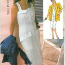 Cathy Hardwick Sundress Sewing Pattern Boxy Jacket Sz 8 Button Front Dress Vtg 7370