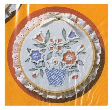 Candlewicking Kit Memory Bouquet 1984 Tulip Flowers Bob Shafor Creative Circle