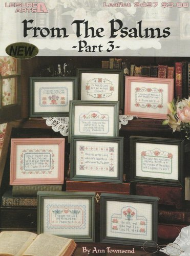 From The Psalms Counted Cross Stitch Design Pattern Bible God Faith
