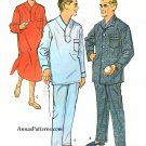 Mens Pajama Nightshirt Top Pant Sewing Pattern 38/40 Vtg 1958 4815