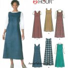 Pullover Dress Sewing Pattern Plus 14-20 Easy Jumper Fitted Bodice 9830