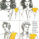 Vogue Sewing Pattern Vintage Camisole Shoulder Pads 9697