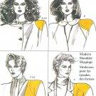 Vogue Sewing Pattern Vintage Camisole Shoulder Pads 9697