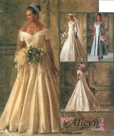 Off Shoulder Wedding Dress Sewing Pattern 10 Victorian Bridal Gown