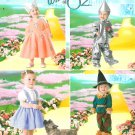 Wizard Of Oz Costume Sewing Pattern Glinda Tin Man Dorothy Scarecrow 4024