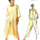 Vintage Vogue Sewing Pattern Coat Dress Pants Tank 12 Tamotsu 80s Retro Fashion 1546