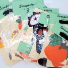 Fall Halloween Scrapbook Cutouts Scarecrow Handcrafted Pumpkin Cats
