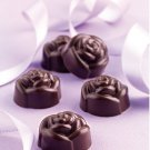 Silicone Rose Flower Chocolate Candy Candle Soap Ice Mold Pan Tray