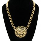 Gold Chain LEO Lion Necklace Lion Necklace Gold Chain Necklace Lion of Judah