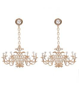 Gold Chandelier Earrings Look Like Chandelier Earrings Gold Statement Earrings 4