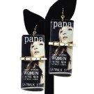 Multi Color Magazine Clutch Purse Earrings Papa Magazine Earrings Black White