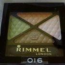 """Rimmel Glam Eyes #016 Eyeshadow Quad in """"Urban Flower"""""""
