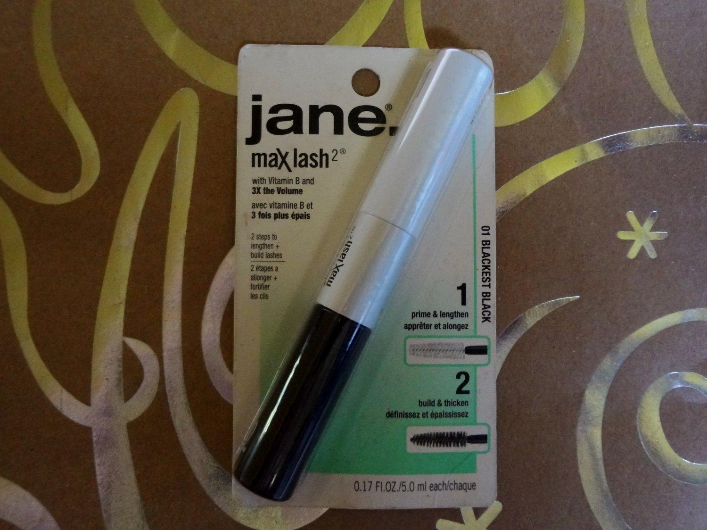 "Jane Max Lash Volumizing Mascara with Vitamin B 01 in ""Blackest Black"""