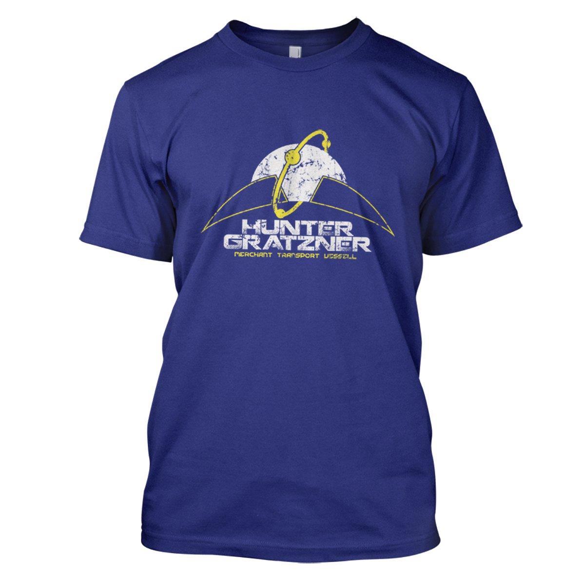 Pitch Black: Hunter Gratzner Mens Movie T-Shirt Large Royal