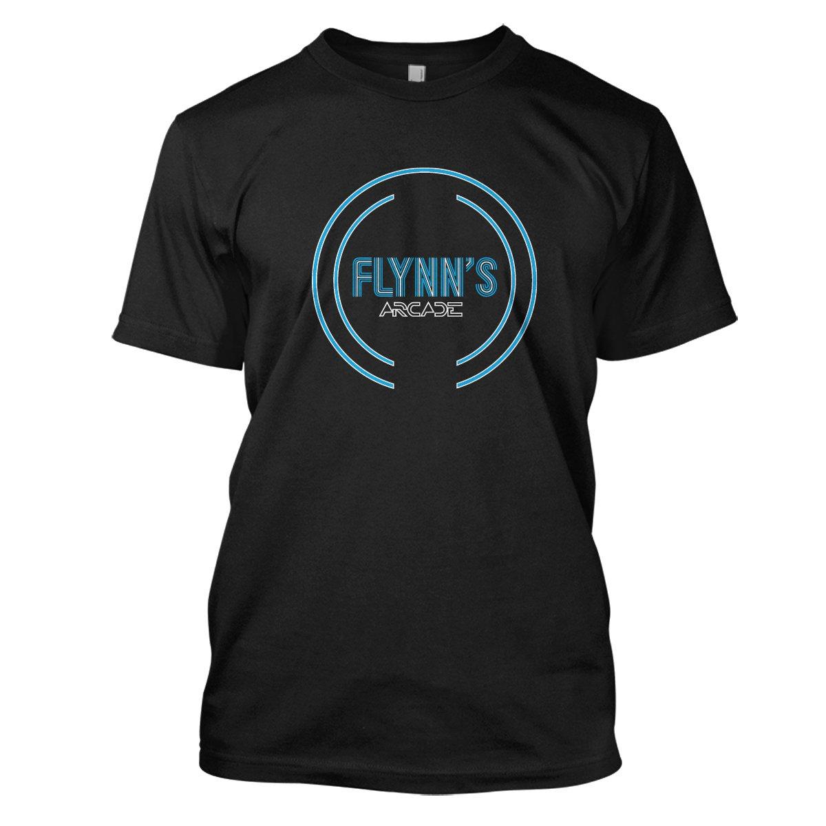 Tron: Flynn's Arcade Mens Movie T-Shirt Medium Black