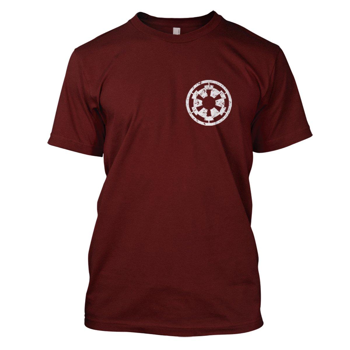 Star Wars: Imperial Cog Mens Movie T-Shirt Large Dark Red
