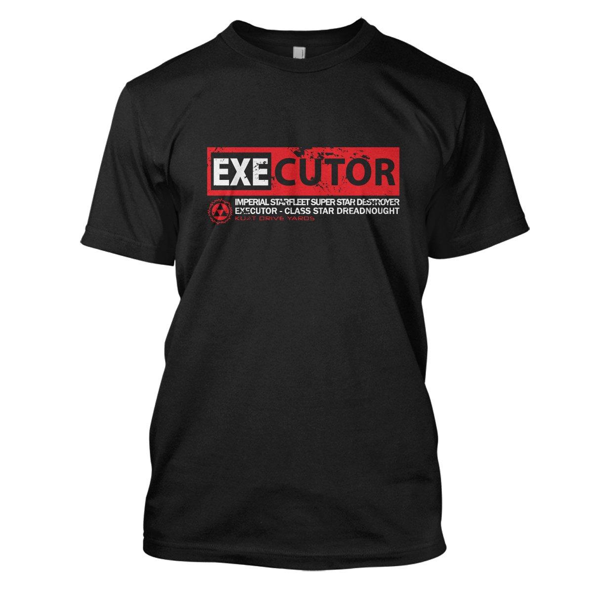Star Wars: Executor Mens Movie T-Shirt Large Black