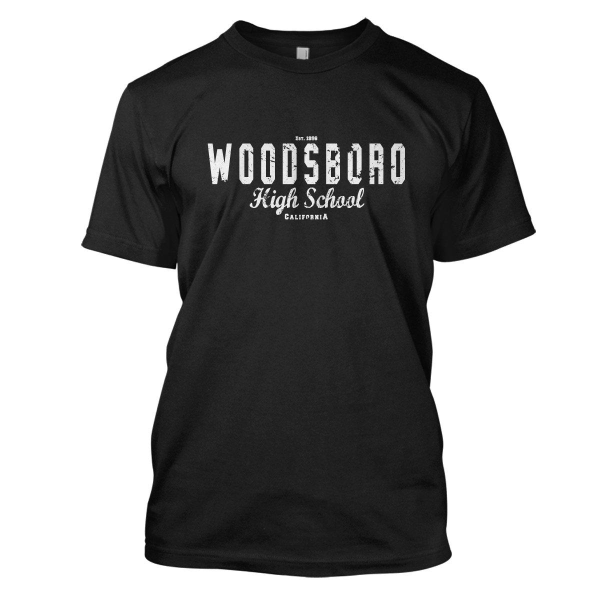 Scream: Woodsboro Mens Movie T-Shirt Large Black