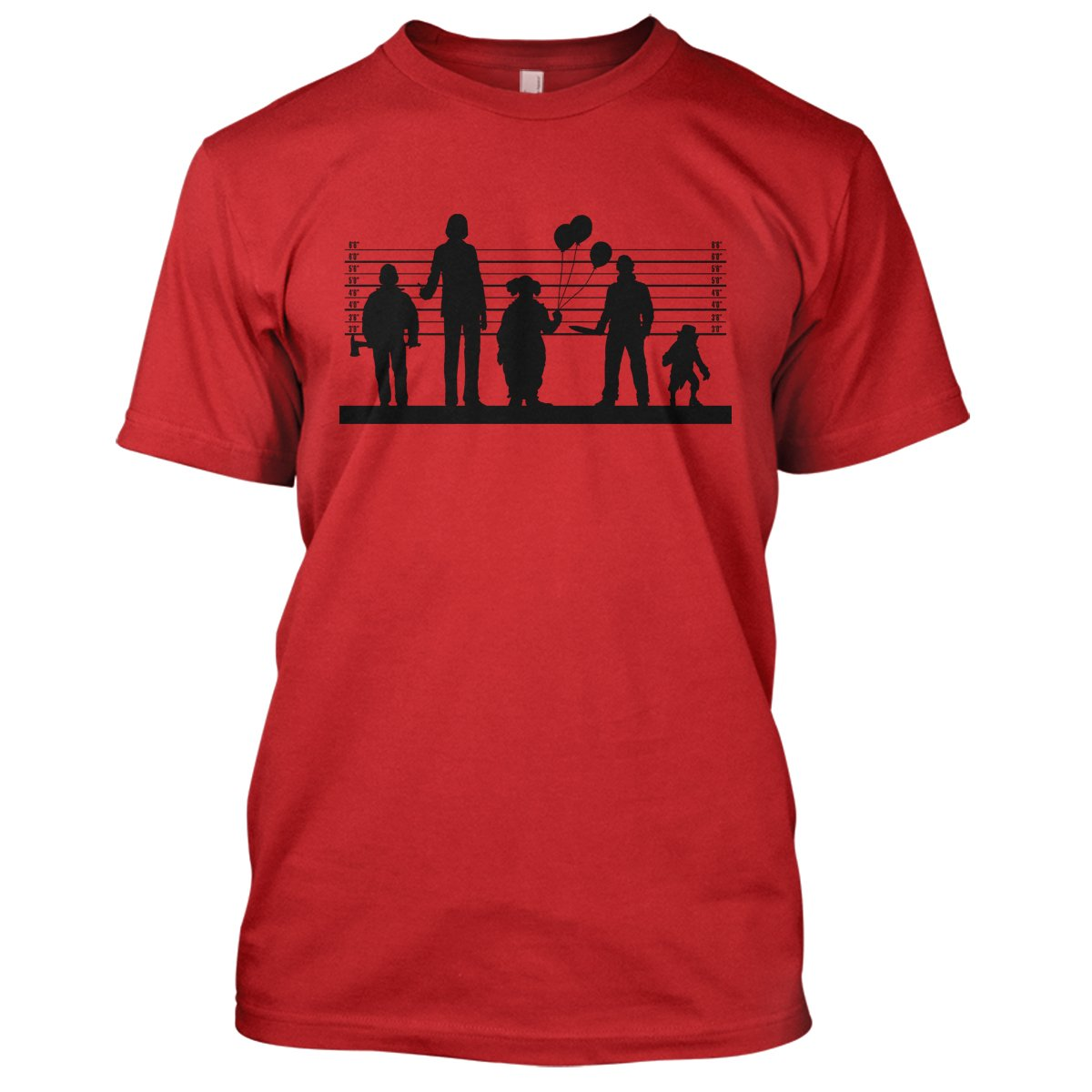 Horror Suspects 2: The Sequel Mens Movie T-Shirt Large Red