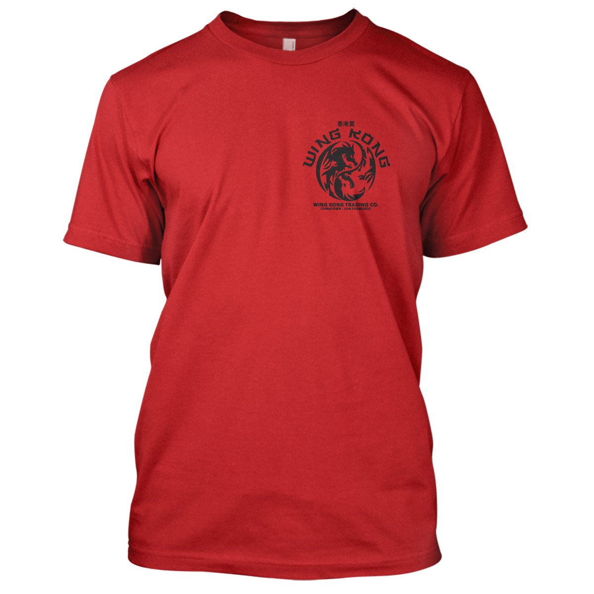 Big Trouble In Little China: Wing Kong Mens Movie T-Shirt Large Red