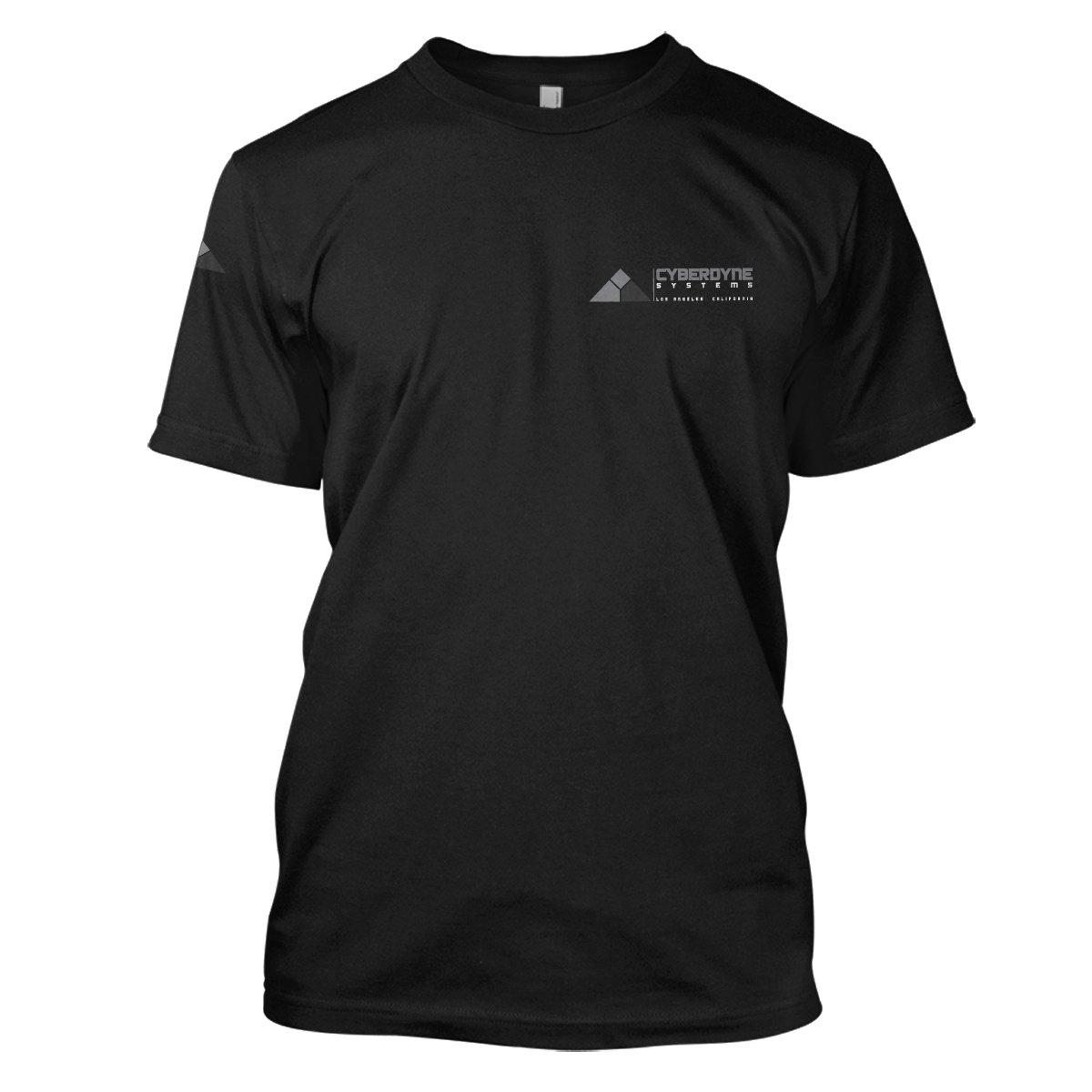 The Terminator: Cyberdyne Mens Movie T-Shirt Small Black