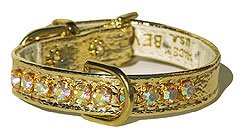LS-Jeweled-Gold Collar