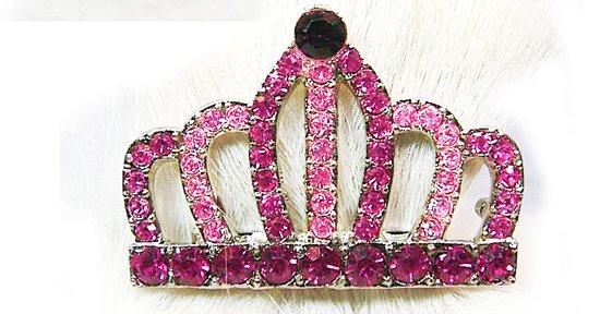 Swarovski Crystal European Crown Hair Pin
