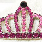 Swarovski Crystal European Crown Hair Pin