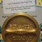 Pro-tek GC-7 Gold Gas Cap Top Fits All Pro-tek Keyless Gas Cap Bases NEW