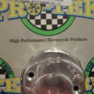 2004-2005 Honda CBR1000RR Silver Front Brake Fluid Reservoir Cap CBR-1000RR Pro-tek RC-200S