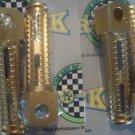1994-1997 Suzuki RF-600R RF-900R Gold Foot Pegs 1994 1995 1996 RF600R RF900R Pro-tek PG-130G PG-135G