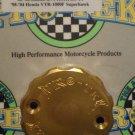 2000-2003 Honda CBR929RR CBR954RR Gold Front Brake Fluid Reservoir Cap Pro-tek RC-200G