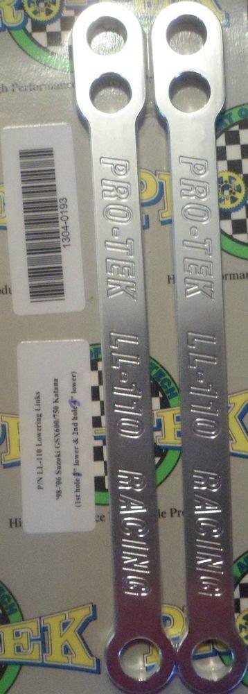 1998 1999 2000 2001 2002 Katana GSX 750 Lowering Links GSX-750 Katana Pro-tek LL-110