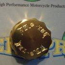Ducati Aprilia Laverda Moto Guzzi Gold Brake or Clutch Fluid Reservoir CapPro-tek RC-450G