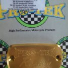 1997-2007 Honda CBR1100XX Gold Front Brake or Clutch Fluid Reservoir Cap CBR-1100XX Pro-tek RC-700G