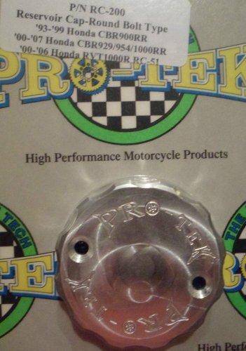 1993-1999 Honda CBR900RR Silver Front Brake Fluid Reservoir Cap CBR-900RR Pro-tek RC-200S