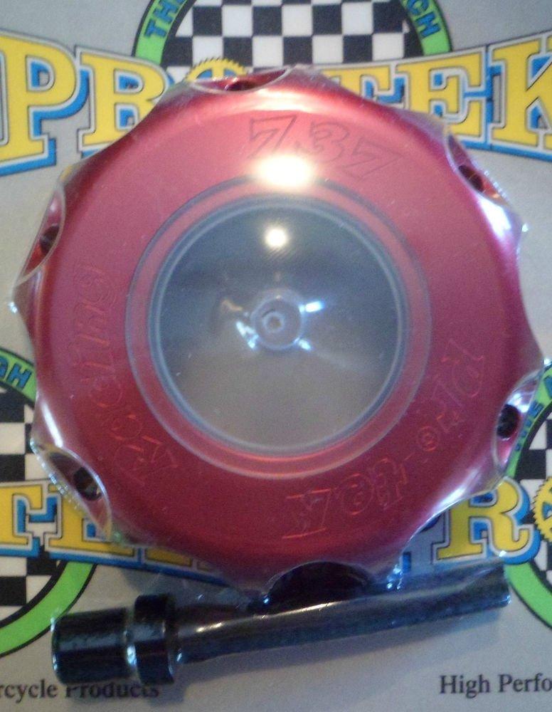 Honda CR-125R Red Gas Cap 2000 2001 2002 2003 2004 2005 2006 2007 CR125R Pro-tek 737R