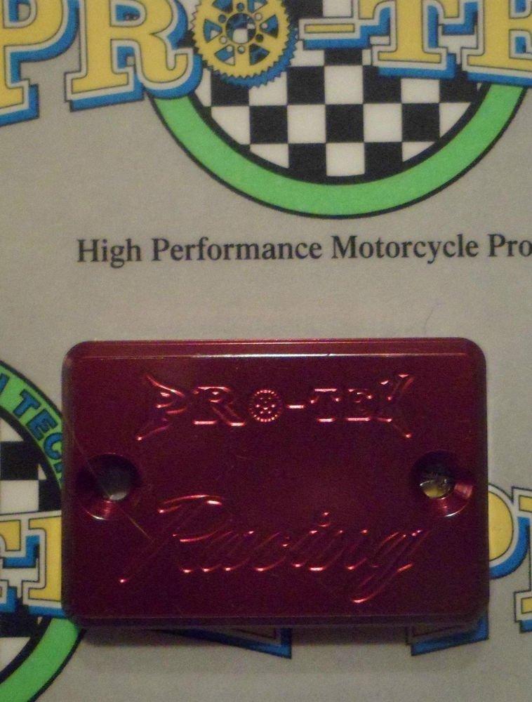 2007-2011 Suzuki Bandit 1250 Red Rear Brake Fluid Reservoir Cap GSF-1250S Pro-tek RC-800R
