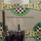 1997-2000 Suzuki GSXR600 Chrome Bar Ends GSXR-600 Pro-tek BE-20BC