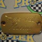 1998-2009 Honda VFR800R Gold Front Brake or Clutch Fluid Reservoir Cap VFR-800R Pro-tek RC-700G