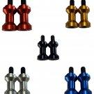 Pro-Tek Swing Arm Spools Sliders Made For Yamaha TZ250 TZ250R TZ-250 ALL YEARS 10mm Aluminum