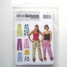 Butterick Pattern BP246 Out of Print Size L - XL Misses Petite Top Shorts Pants