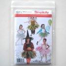 Childs Girls Clown Honey Bee Princess Ballerina Witch Costume Simplicity Pattern 2071