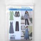 Simplicity Pattern 2232 Size 10 - 18 Khaliah Ali Misses Plus Size Sportswear Dress Jacket