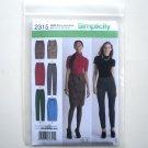 Simplicity Pattern 2315 Size 14 - 22 In K Designs Misses Miss Petite Skirt Pants