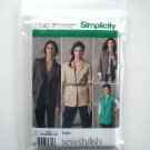 Simplicity Pattern 2340 Size 16 - 24 Threads Sew Stylish Misses Miss Petite Boyfriend Jackets